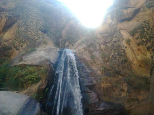 Waterfall in Cafayate